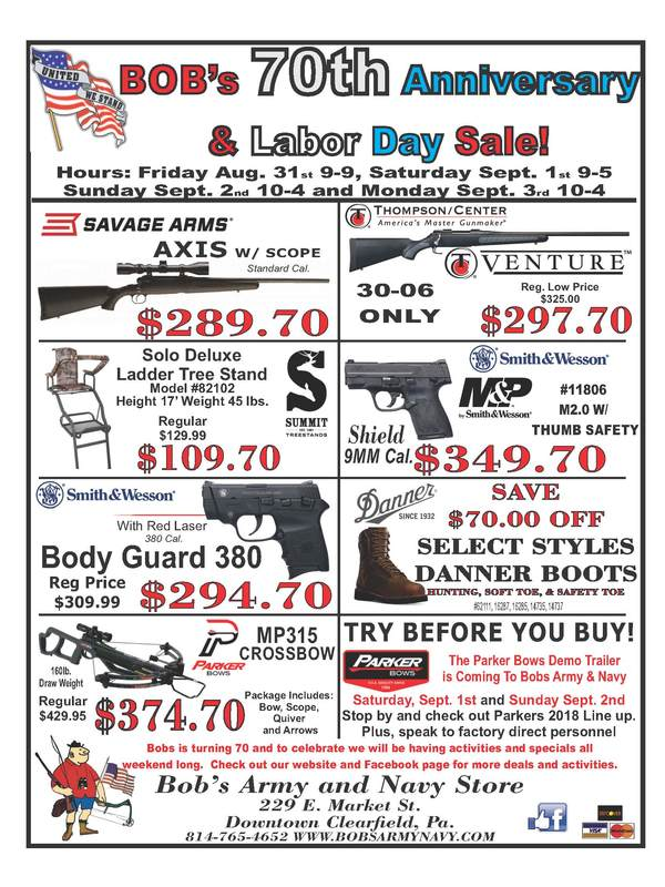 bob s army navy store flyers and sales
