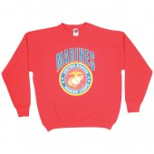 MARINES INSIGNIA SWEATSHIRT RED