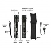 SABRE Tactical Stun Gun with LED Flashlight