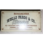 Winchester 30-30 Commemorative Ammo - Wells Fargo & Co.
